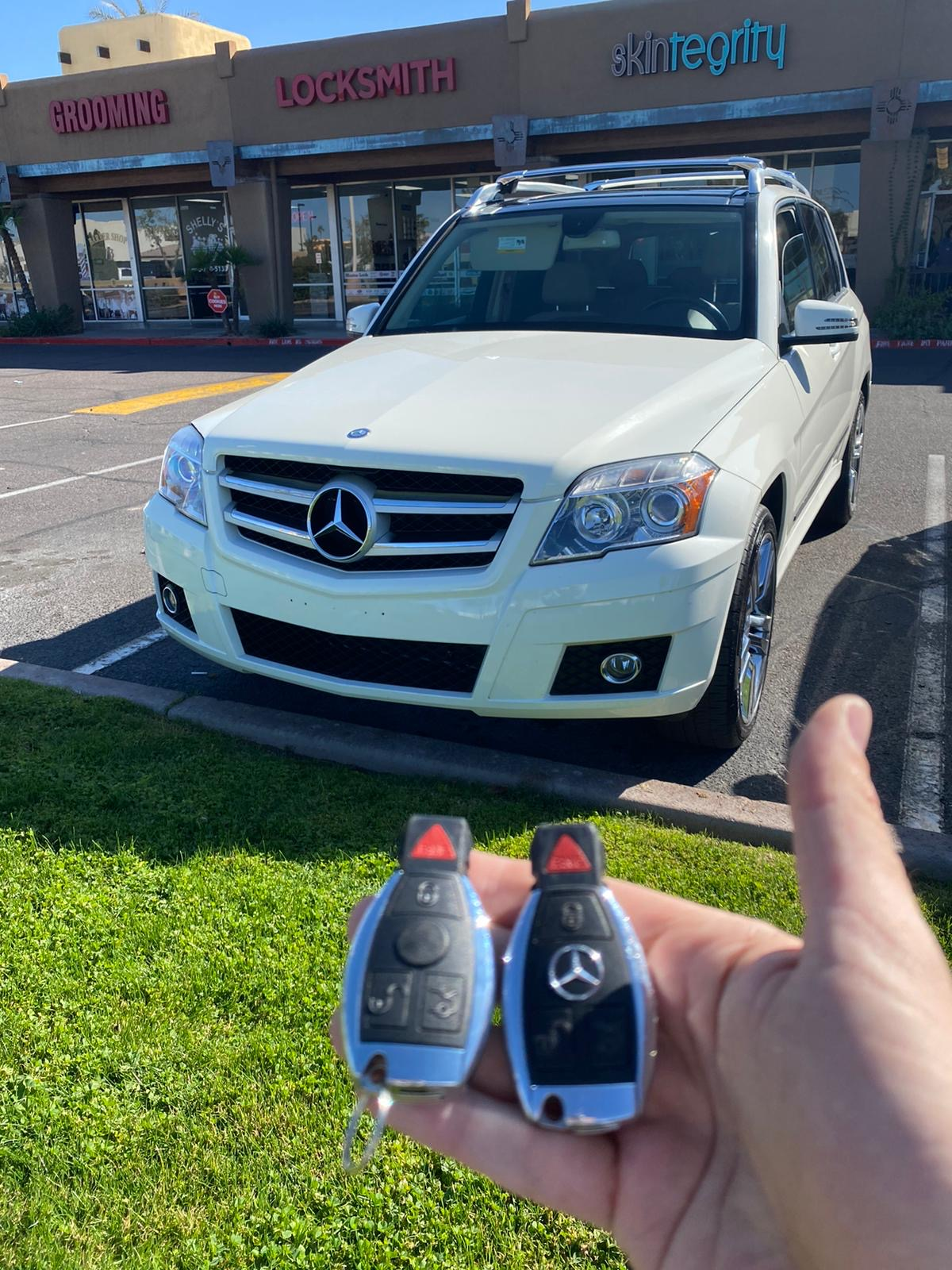 mercedes key fob replacement near me