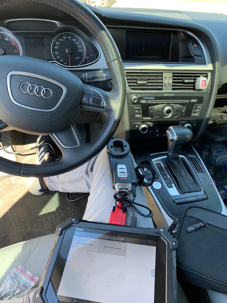 Lost Audi Key Replacement
