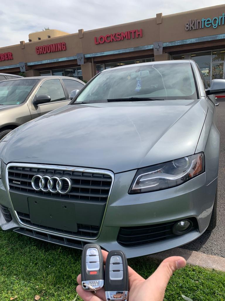 audi key fob replacement in tempe