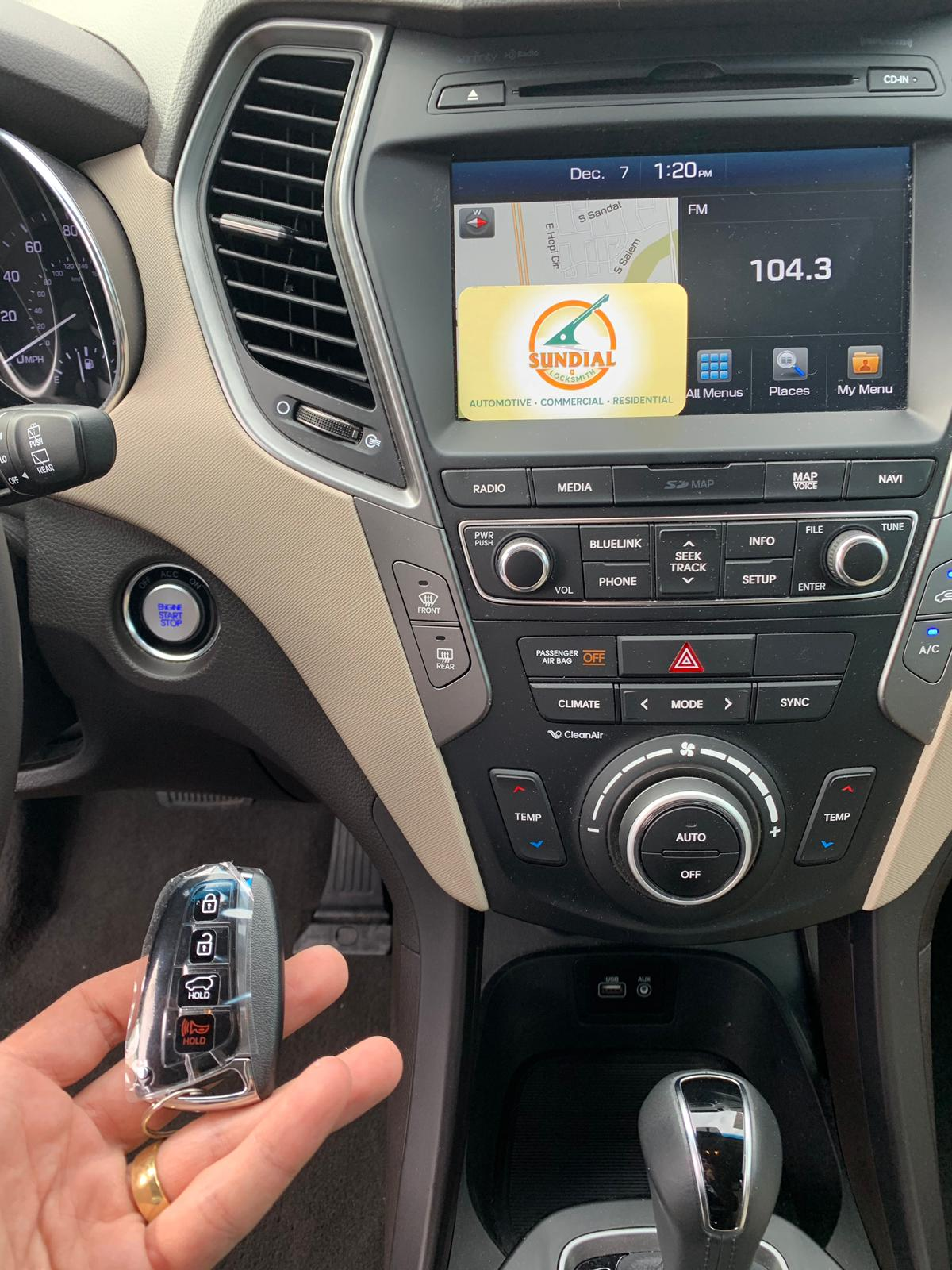 hyundai key fob replacement cost