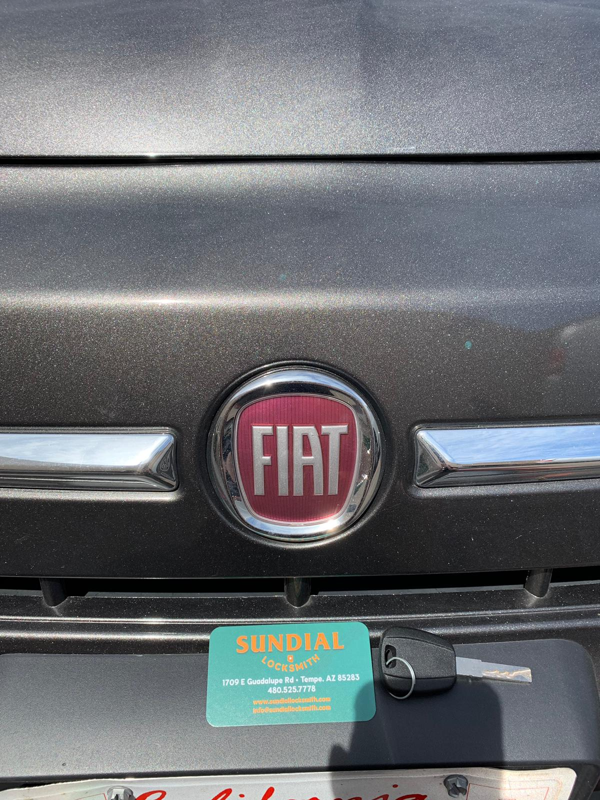 fiat key fob replacement price