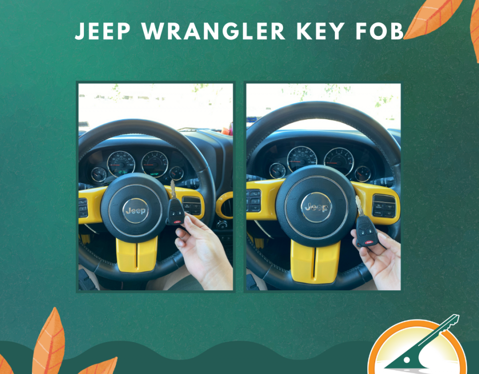 Jeep Wrangler Key Fob Replacement